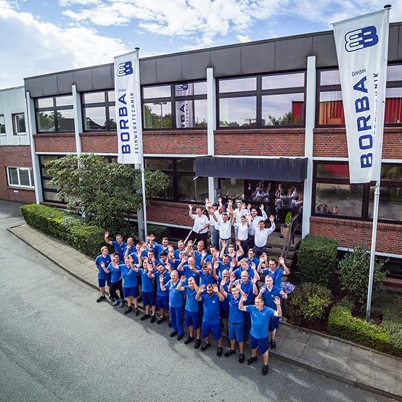 Borba Feinwerktechnik GmbH – das Team